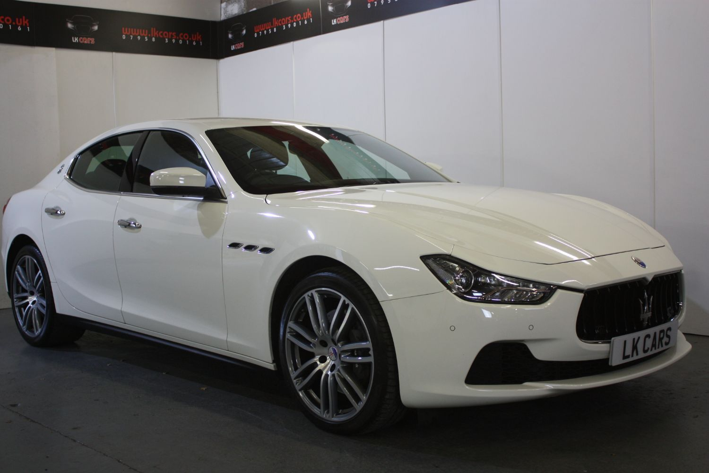 2017 Maserati Ghibli 3.0TD (17 reg)